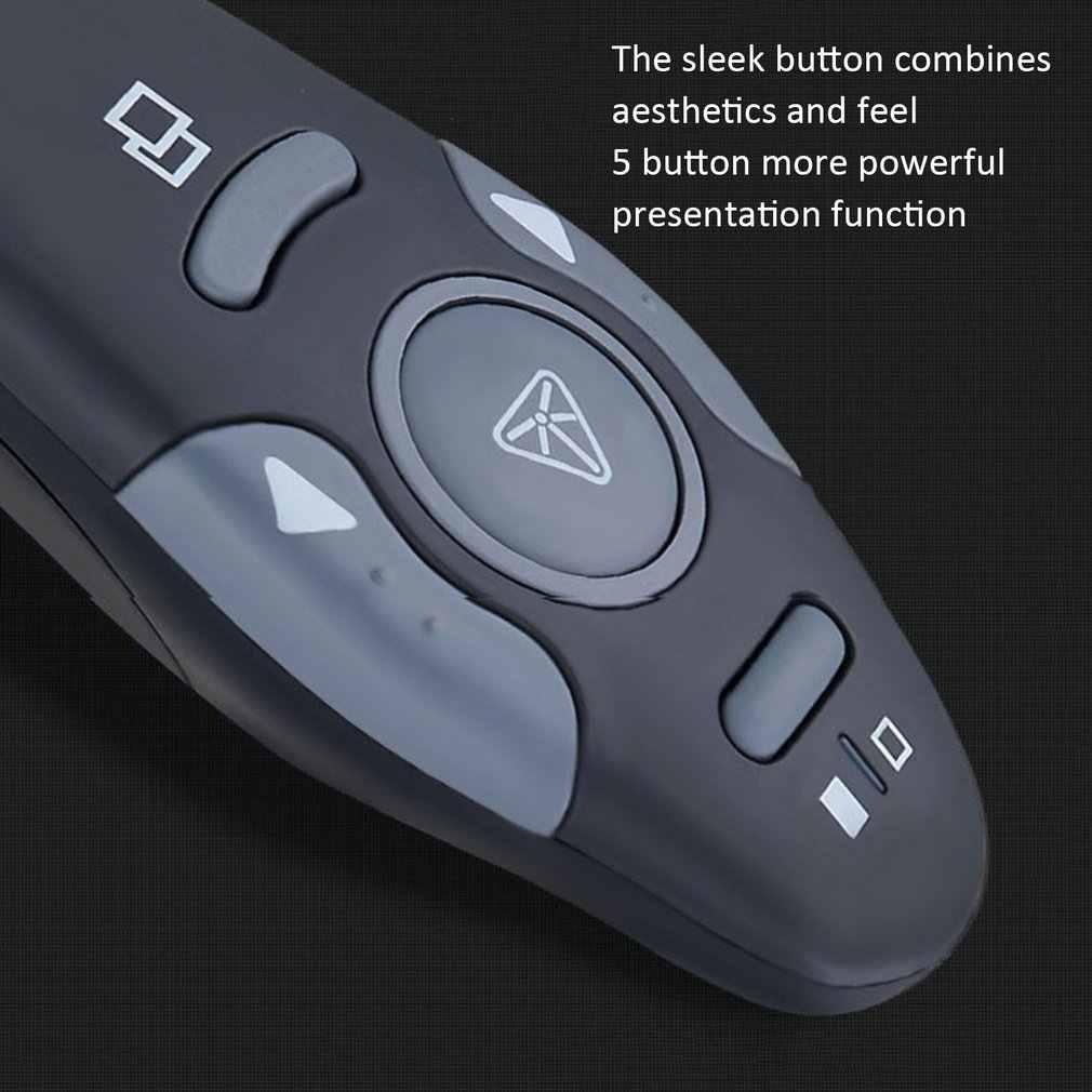 USB Không Dây Dẫn Chương Trình PowerPoint Công Tắc Thuyết Trình Điều Khiển Từ Xa Bút PPT Đỏ Đèn Điều Khiển Từ Xa Máy Tính Chuột