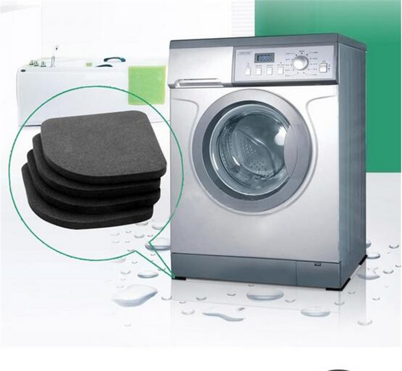 Washing Machine Shock Pads Non-slip Mats Refrigerator Anti-vibration Pad 4pcs/set