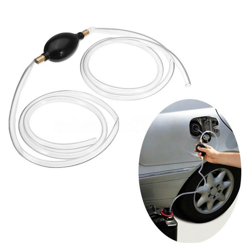 Fuel Primer Hand Siphon Pump Gas Petrol Diesel Liquid Water Transfer Hose Auto Parts Pump