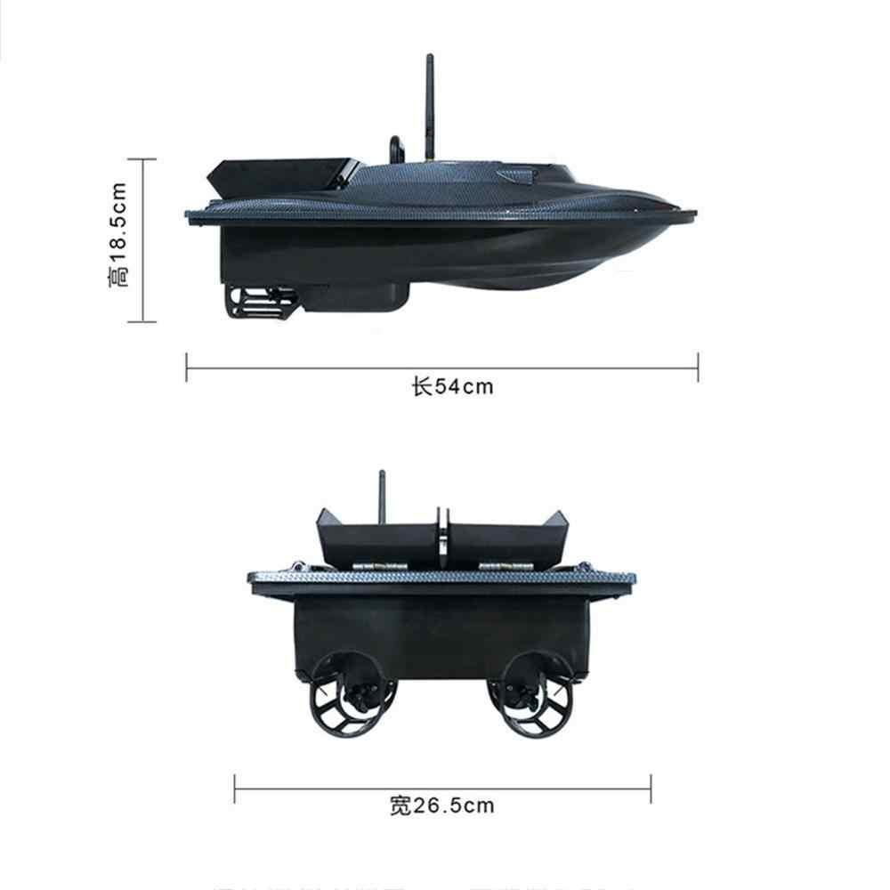EU/US/UK Flytec 2011-5 narzędzie połowowe Smart RC łódź z przynętą zabawki podwójny silnik lokalizator ryb statek łódź pilot 500m łódź rybacka