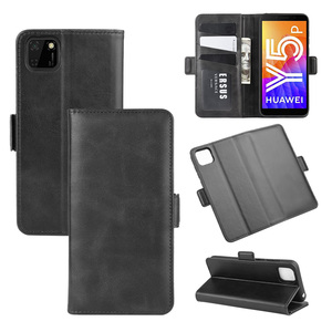 Image 1 - Case For Huawei Y5P Leather Wallet Flip Cover Vintage Magnet Phone Case For Honor 9S Coque