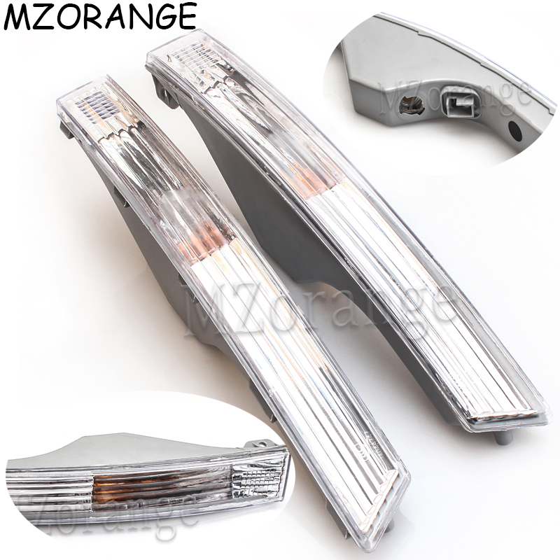 Front Bumper Turn Signal Light For Passat B6 2006 2007 2008 2009 2010 Car-styling Front Turn Signal Lamp Shell Without Bulbs