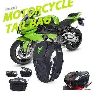 Image 5 - Новая мотоциклетная сумка большой емкости рюкзак велосипедиста многофункциональная прочная сумка для заднего сиденья мотоцикла