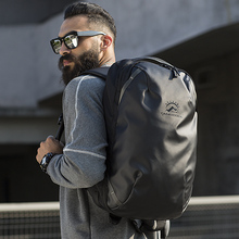 Tangcool mochila impermeable para ordenador portátil de 15,6 pulgadas para hombre, morral impermeable para viaje al aire libre, mochila escolar para adolescentes