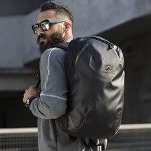 Tangcool moda sırt çantası erkekler 15.6 inç Laptop sırt çantaları su geçirmez çanta açık seyahat çantaları genç okul çantası sırt çantası