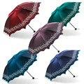 Солнце рай мини Зонт складывающийся в карман дождь для женщин Мода арочные принцессы Зонты женский креативный мужской подарки 60U097