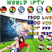 Stable IPTV Spain Subscription 4K IPTV M3U Fr Adult Channels IPTV Portugal 1 Year Abonnement for Sma