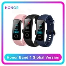 Honor Band 4 reloj inteligente con control del ritmo cardíaco, pulsera inteligente con control del ritmo cardíaco, resistente al agua, Color negro, azul y rosa, pantalla táctil de actividad y sueño, Amoled, versión Global