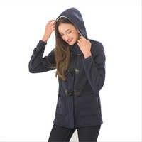 Mulheres jaquetas básicas 2019 marinha causal casaco outono casaco com zíper outwear casaco feminino com capuz casaco feminino 5xl