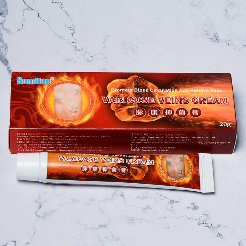 10 pièces Sumifun 2020 nouvelle crème de traitement des varices 100% Original vasculite phlébite araignée pommade de soulagement de la douleur médicale