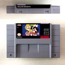 美少女戦士セーラームーンrアクションゲームカードus版英語