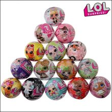 LOLS Surprise Toy Child Demolition Ball Funny LOLS Dolls Egg Cartoon Anime Figure PVC Material Boy Girl Birthday Gift