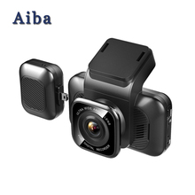 Aiba A12 Car Dash Cam 1296P HD Dash Camera wifi car dvr With WiFi G-Sensor Loop Recording Night Vision car camera recorder sinairy car dash cam with wifi car dvr camera app support ios android system recorder 170 degree super wide angle loop recording