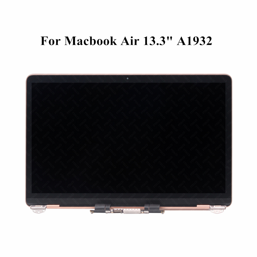 """New Rose Gold For Macbook Air 13"""" 2018 Model A1932 Part number 661-12586 LED Display Screen Full LCD Asssembly"""
