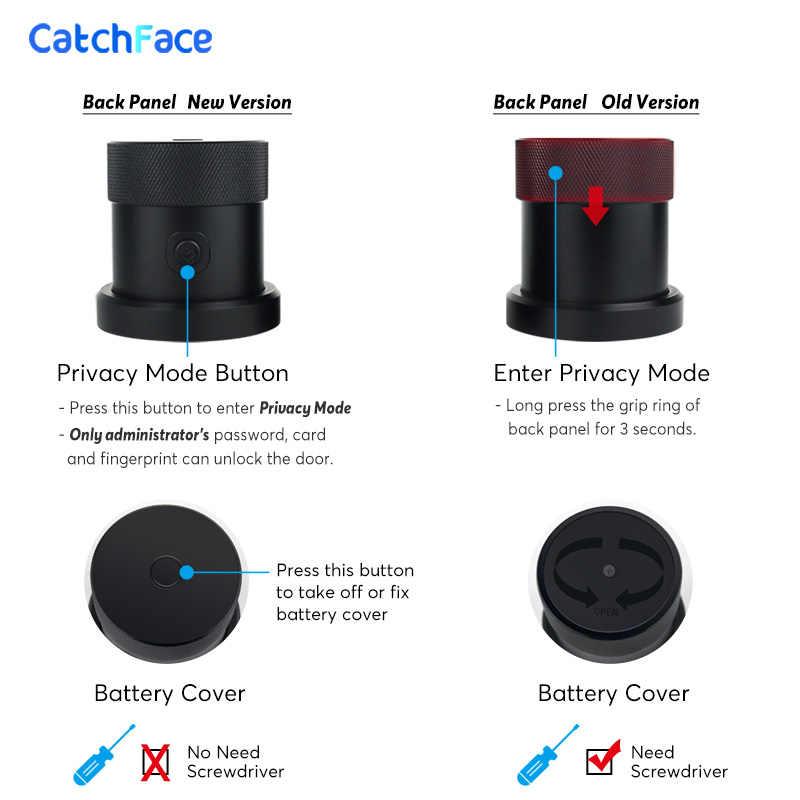 Upgrade Listrik Smart Lock Keypad Digital Smart Door Lock Terbaru Tahan Air Sandi Aplikasi Kartu RFID Kunci Pintu Keamanan Rumah
