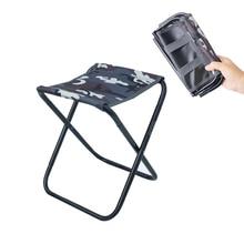 Folding Stool Fishing-Chair Outdoor Camping Travel Aluminum Portable New Train Mazza