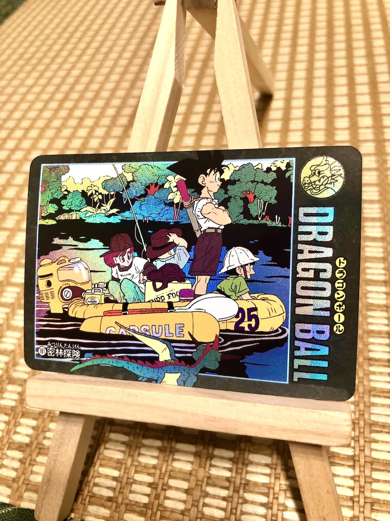 42pcs/set Dragon Ball Z Wind And Cloud Super Saiyan Goku Vegeta Game Figures Commemorative Edition Collection Cards Limit