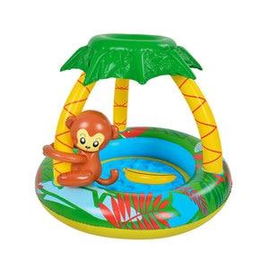 Baby Inflatable Swim Pool Kids Summer Fl