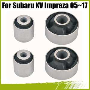 4pcs/set Front Lower Control Arm Bushing for Subaru Impreza 05-17 Forester 08-17 Legacy 03-18 Outback 03-18 WRX 14-18 XV 12-17