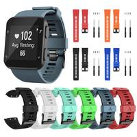 2020 Colorful Sport Watch Strap For Garmin Forerunner 35 Smart Watch Strap Silicone Replacement Band Bracelet Screwdriver TXTB1