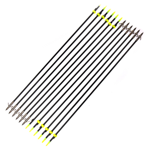 "Image 5 - 35 ""ロング弓釣り撮影矢印8ミリメートルグラスファイバーシャフト矢印複合/後ろに反らす弓b"