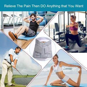 Image 5 - HKJD Medical High Back Brace Waist Belt Spine Support Men Women Belts Breathable Lumbar Corset Orthopedic Back Support