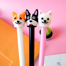 0.5mm black water pen students sign creative stationery cute cartoon little dog neutral