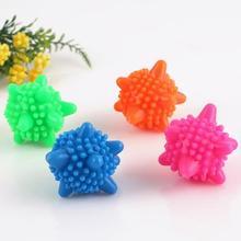 Волшебный многоразовый шар для стирки домашних уборочных моющих шариков, смягчитель одежды в форме морской звезды, твердые чистящие шарики