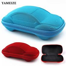 Sunglasses Cases Strage-Bag Children Portable Cute YAMEIZE Automobile-Styling-Box Car-Shaped
