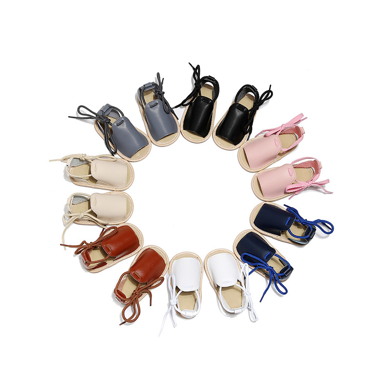 New PU Leather Baby Shoes Soft Rubber Sole Baby Boy Girl Shoes Toddler Shoes For Boys Girls