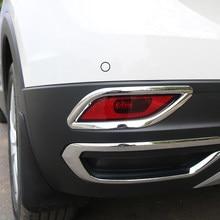 Detector de carrocería para coche, cubierta de luz antiniebla trasera moldura para luz, ABS, embellecedor, para Volkswagen VW t-cross Tcross 2018 2019 2020, 2 uds.