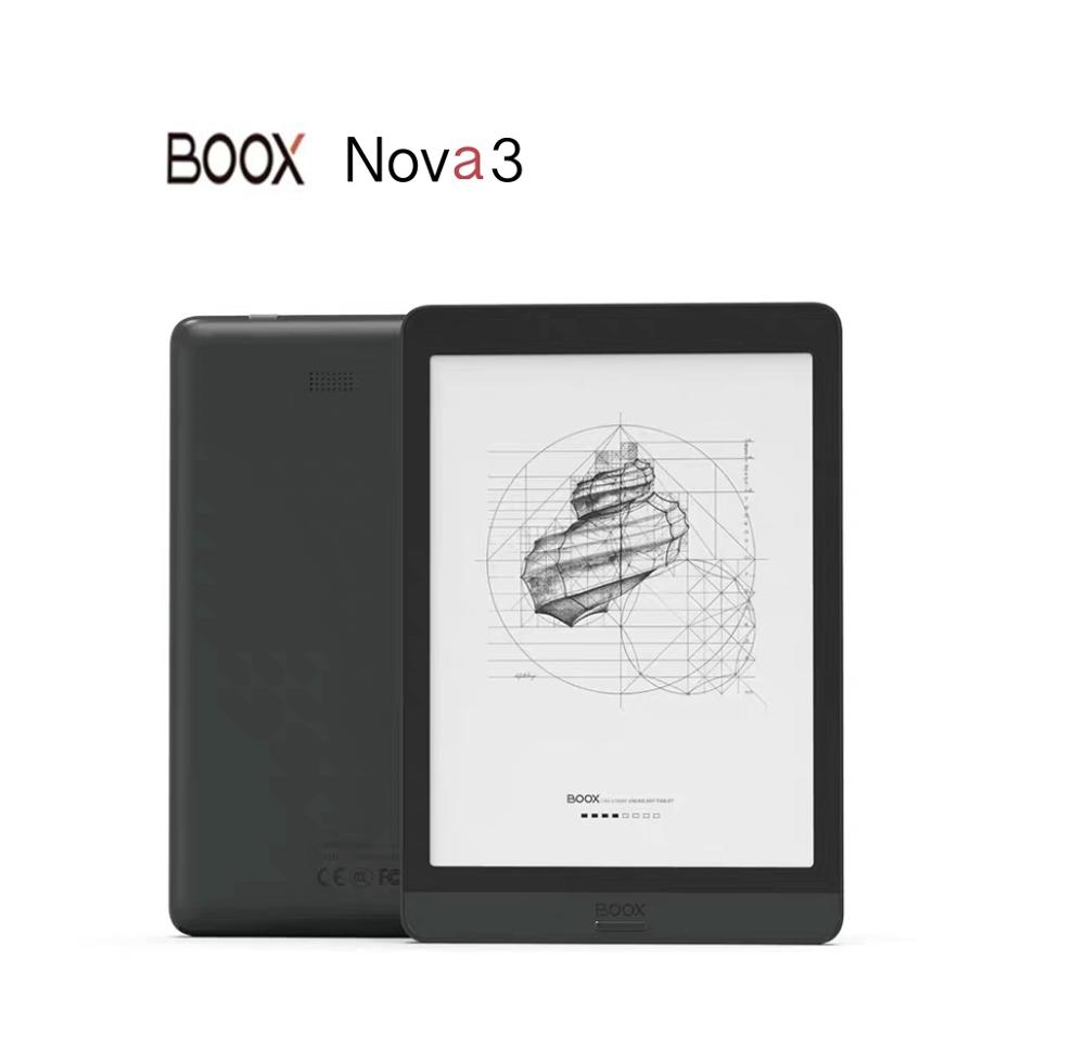 Boox nova3 7.8 Inch E Ink Screen Eink display 3G+32GB Tablet Android 10.0 eBook Reader Support USB OTG
