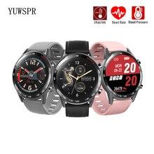 ساعة رياضية ذكية T23 ، ساعة ذكية مقاومة للماء مع التحكم في درجة حرارة الجسم وضغط الدم والتحكم في معدل ضربات القلب وشاشة تعمل باللمس للرجال والنساء