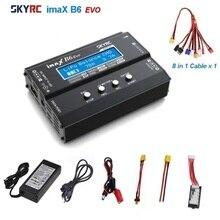 Балансирующее зарядное устройство SKYRC IMAX B6 EVO, зарядное устройство 6A для радиоуправляемых вертолетов, зарядное устройство для NiMH NiCD LiHV NiCd PB ...