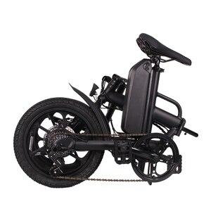 Image 3 - folding 16 inch 36v CMS F16 Plus ebike adult folding electric bike mini electric bicycle