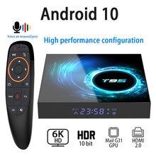 أندرويد 10.0 صندوق التلفزيون 6K 4K 1080P يوتيوب H616 رباعية النواة 4GB 32GB 64GB H.265 واي فاي 2.4G مشغل الوسائط مجموعة صندوق