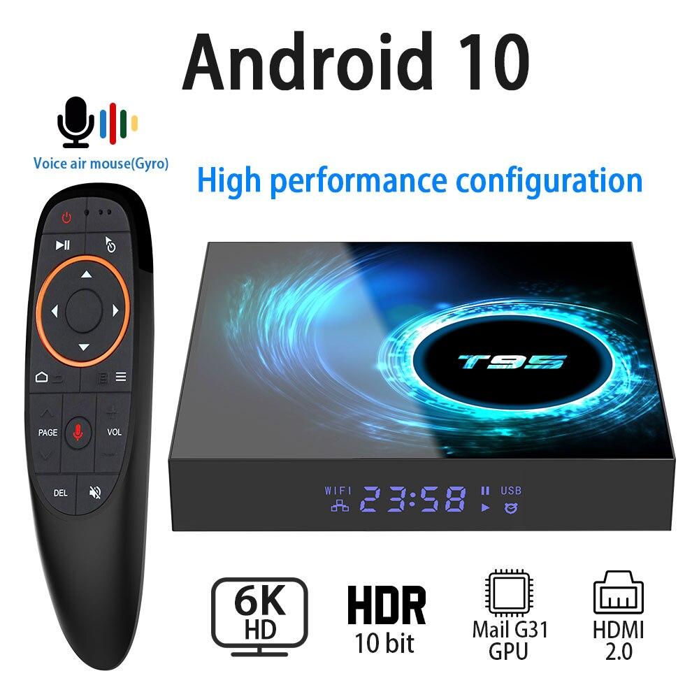 Android 10.0 TV Box 6K 4K 1080P Youtube Netflix H616 Quad Core 4GB 32GB 64GB H.265 Wifi 2.4G Media Player Set Top Box(China)