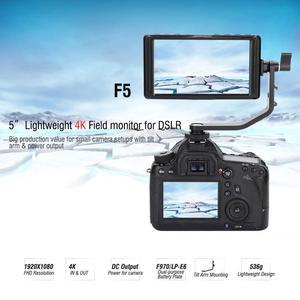 Image 2 - FEELWORLD F5 5 Inch 4K HDMI Full HD 1920X1080 Ngày Camera Video Màn Hình Cho Máy Ảnh DSLR Video màn Hình Mới