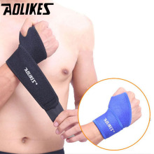 Aolikes 1 шт. спортивный браслет на запястье для спортзала, браслет на запястье, поддержка запястья, шина, переломы карпального туннеля, напульсники для фитнеса