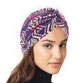 Мусульманский головной убор тюрбан капот для женщин из хлопка с принтом внутренняя шапочки под хиджаб арабский обруч хиджаб femme musulman исламс...