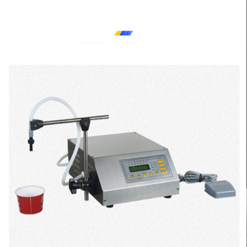 Stainless Steel Filling Machine GFK-160 CNC Liquid Water Dosing Machine Mini Bottle Water Filler photograph electric sensor for bottle water filling machine spare parts