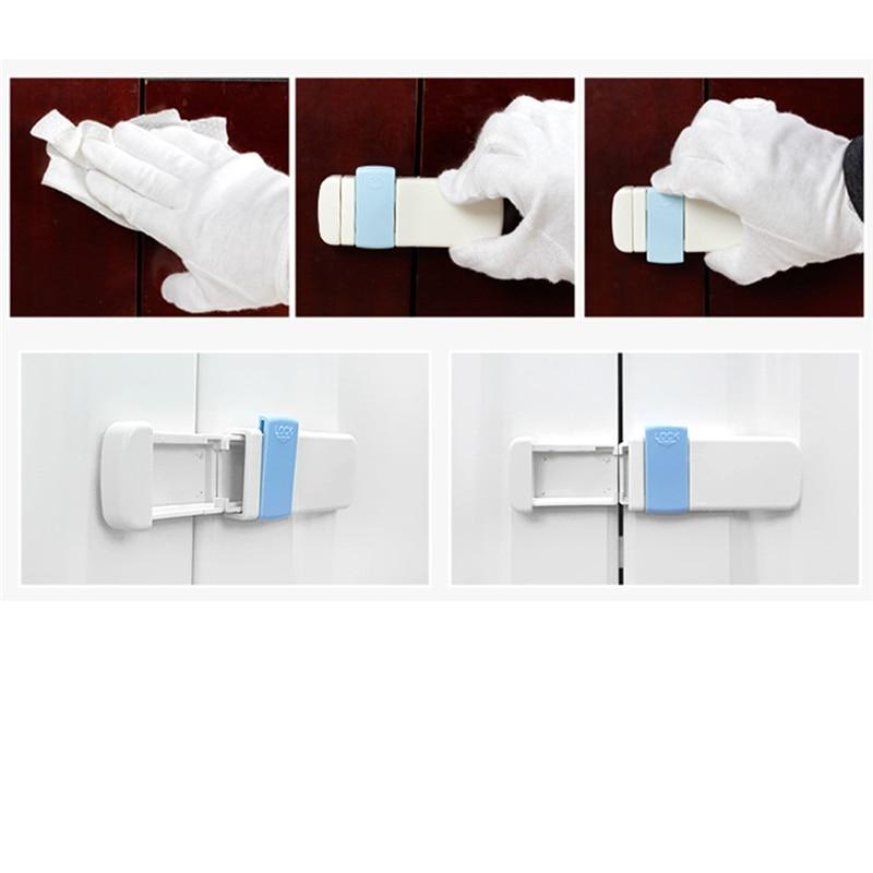 2Pcs/set Baby Safety Drawer Locks Children Security Protection Lock For Cabinet Door Kids Child Safety Locks
