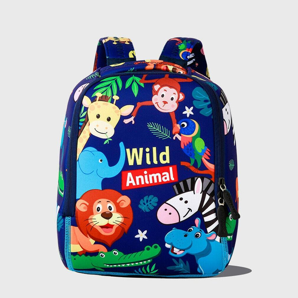 Cute Baby School Bag Cartoon Pattern Anti-lost Kindergarten School Bag 2019 New Baby Backpack