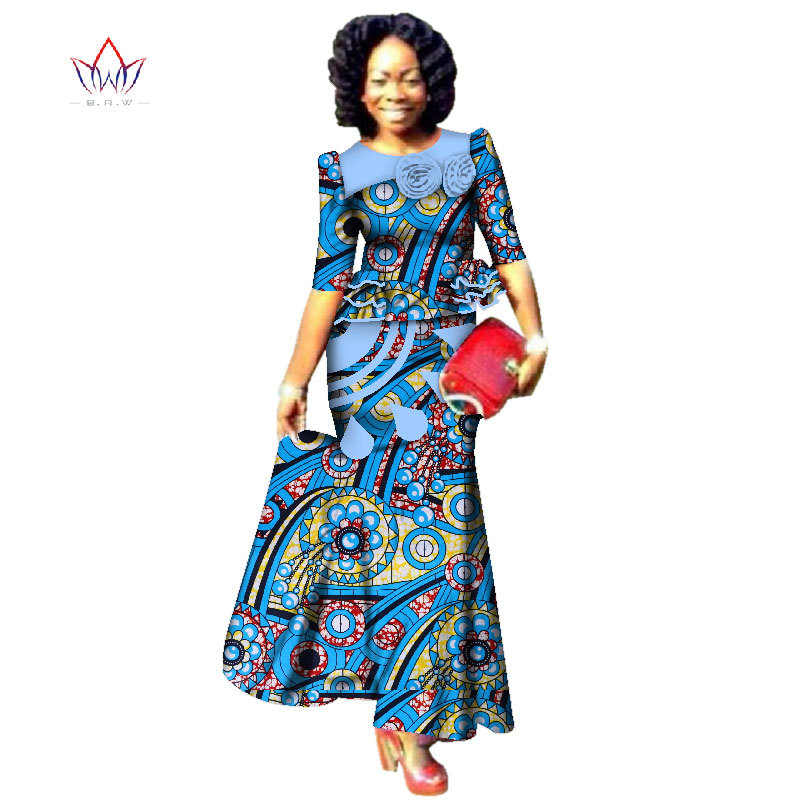 New Style 2020 Fashion African Skrit Sets For Women Traditional Plus Size African Clothes Dashiki Elegant Women Set Brw Wy2487 Elegant Women Fashion Clothesset Fashion Aliexpress