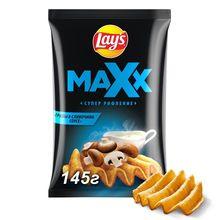 Чипсы Lay's Maxx грибы в сливочном соусе, 145 г