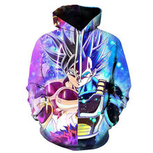 Casual Fashion Hoodie Men and Women Anime Cartoon 3D Spring and Autumn Street 2021