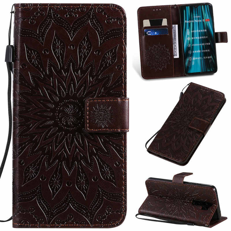 Redmi 8A Note8 Flip Case Funda Xiaomi Redmi Note 8 Pro Case Luxury 3D Emboss Wallet Leather for Redmi Note 8 Case A8 8 A Cover