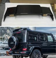 High Quality ABS PRIMER / CARBON FIBER REAR WING TRUNK LIP SPOILER FOR Benz G CLASS W464 G500 G550 G900 G63 2018 2019 2020|Spoilers & Wings| |  -