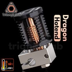 Cabezal de extrusión trianglelab Dragon Hotend superprecisión para impresora 3D Compatible con V6 Hotend y adaptador de mosquito Hotend