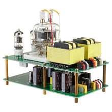 Placa amplificadora 3W + 3W APPJ Extremo único 6J1 + FU32 tubo Clase A POTENCIA AMP Hifi Vintage Audio montado tablero